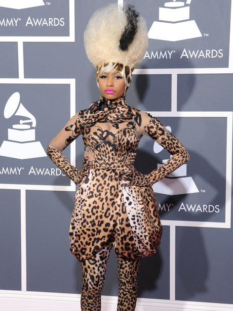 Nicki Minaj Grammy Awards 2010