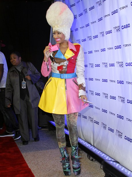 Nicki Minaj attends the Casio Tryx: Out Launch event