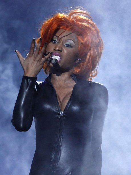 Nicki Minaj performs In Catwoman Costume At 2010 BET Awards