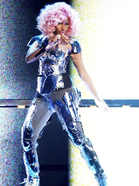 Nicki Minaj performing