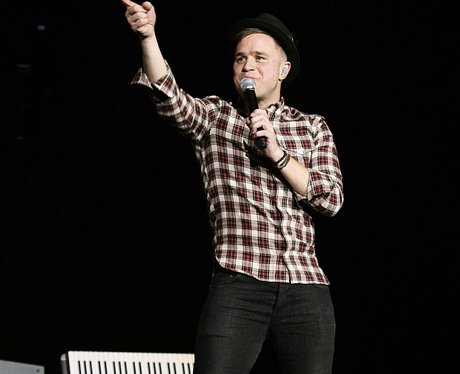 Olly Murs live on stage at the 2011 Jingle Bell Ball