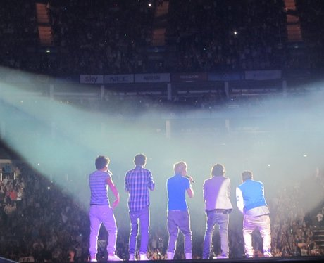One Directions's picture diary at the Jingle Bell Ball 2011