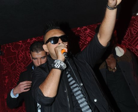 Sean Paul performing live