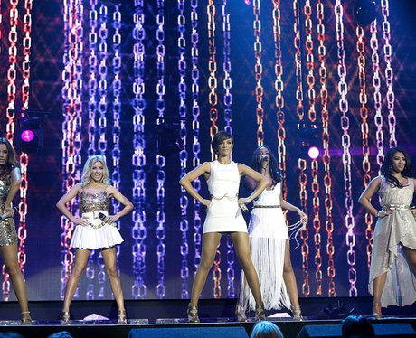 The Saturdays live at the 2011 Jingle Bell Ball