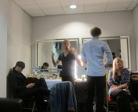 The Wanted's picture diary at the 2011 jingle bell