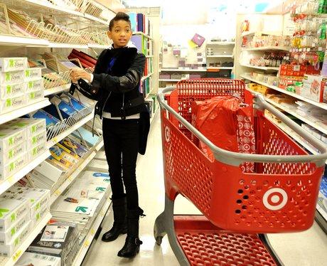 Willow Smith shopping