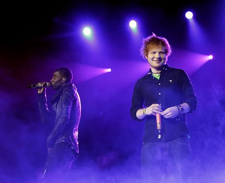 Wretch 32 and Ed Sheeran live at the 2011 Jingle Bell Ball