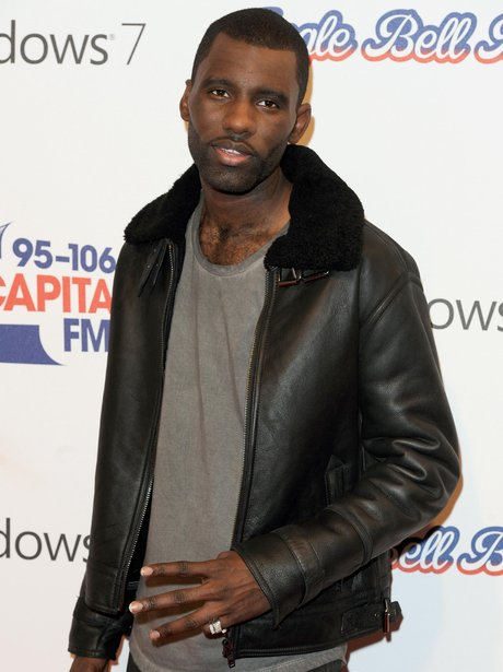 Wretch arrives at the 2011 Jingle Bell Ball