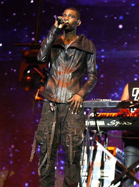 Wretch 32 performing live on stage at the 2011 Jingle Bell Ball at the O2 Arena