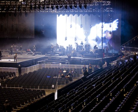 Wretch 32 Rehearsing at the 2011 Jingle Bell Ball