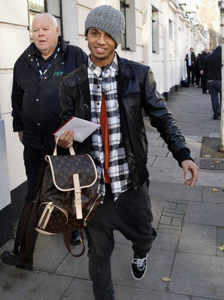 JLS in London