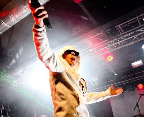 Dappy performs live at the 02