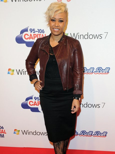 Emeli Sande at the 2011 Jingle Bell Ball