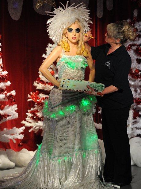 Lady Gaga waxwork