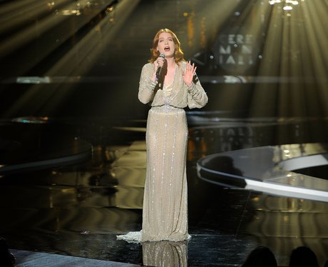 Florence Welch performs on stage