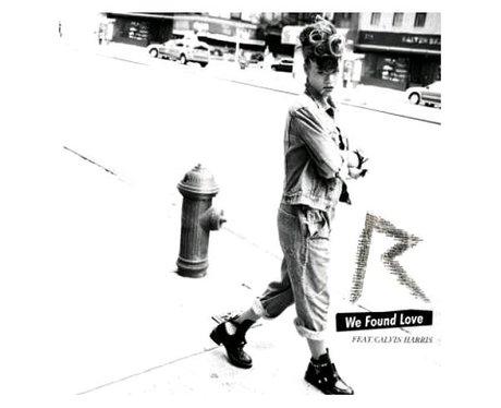 'We Found Love' singles artwork