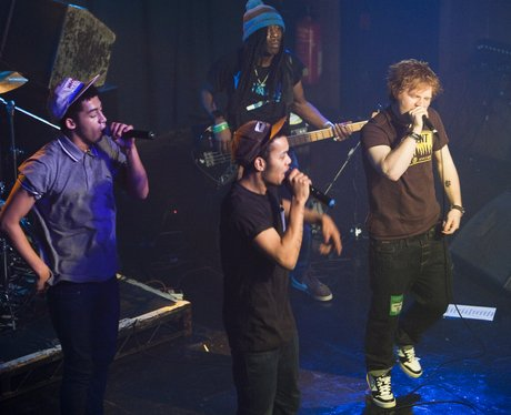 Rizzle kicks and Ed Sheeran