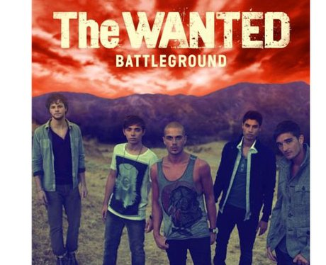 The Wanted's 'Battleground' album cover
