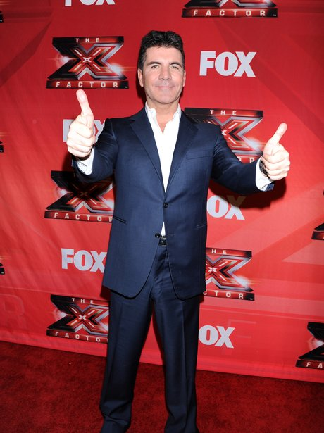 Simon Cowell arrives on the red carpet