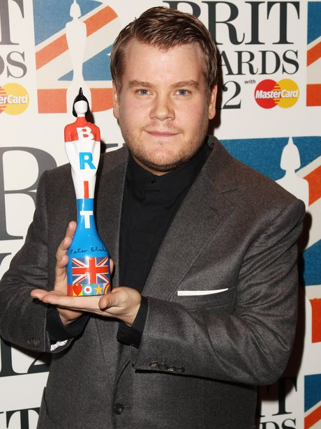 James Corden BRIT Awards 2012 nominations