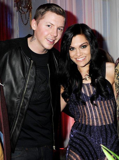 Professor Green and Jessie J BRIT Awards 2012 Nominations