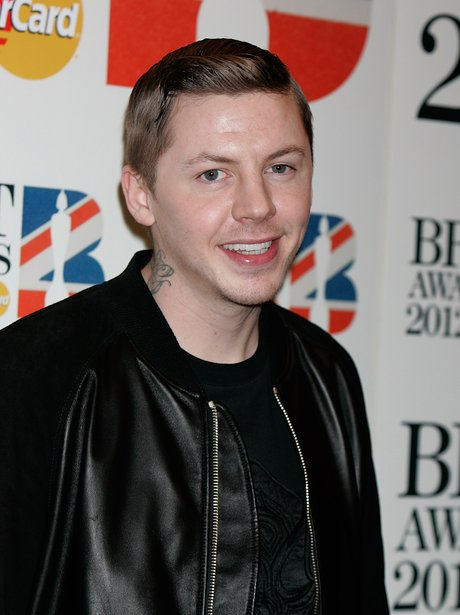 Professor Green at the 2012 BRIT nominations