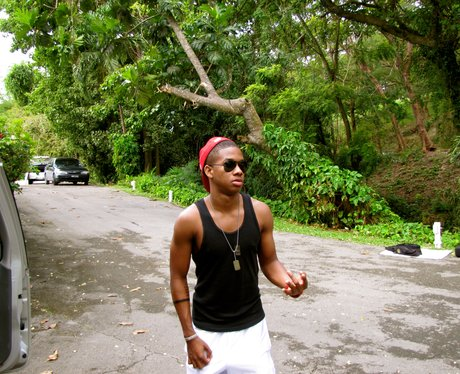 Cover Drive's T-Ray holidays in Barbados