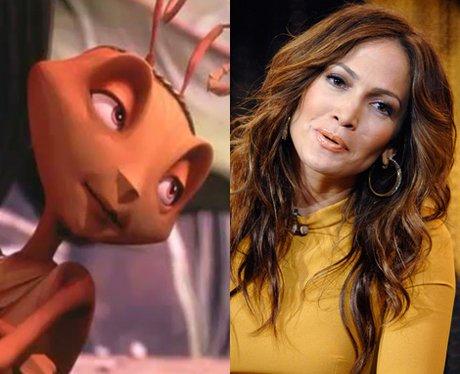 Jennifer Lopez stars as Azteca in Antz