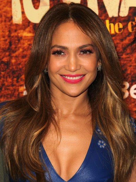 Jennifer Lopez at the Winter Television Critics Association