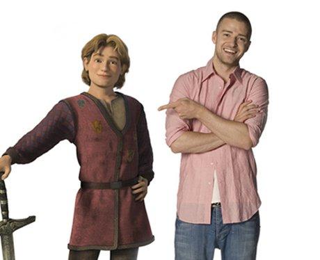 Justin Timberlake stars as King Arthur in Shrek 3