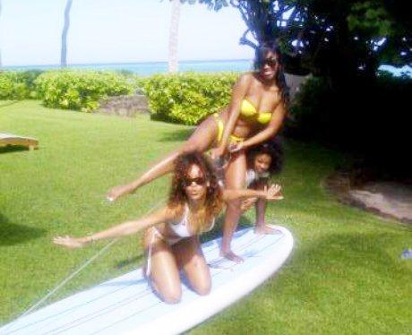 Rihanna in Hawaii