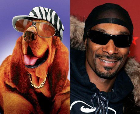 Snoop Dogg voiced a hip-hopping hound dog