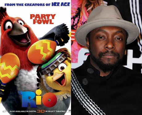 Will.i.am  stars as Pedro the bird in Rio