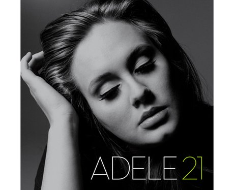 Adele's '21' album cover.