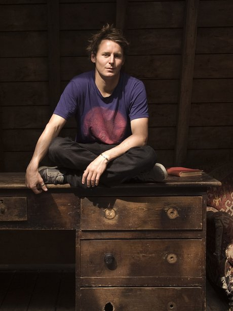 Ben Howard poses for a photoshoot