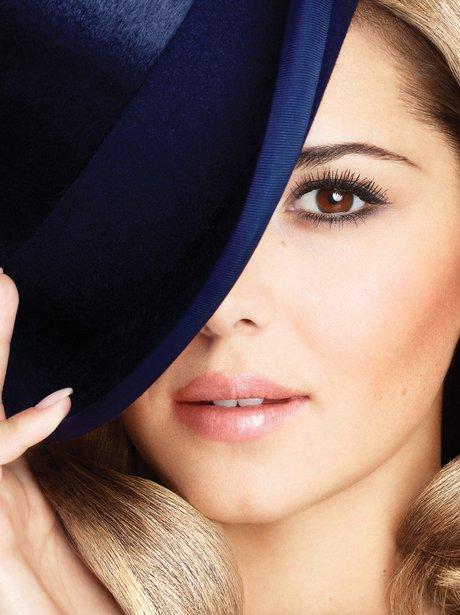 Charyl Cole promotes make-up range