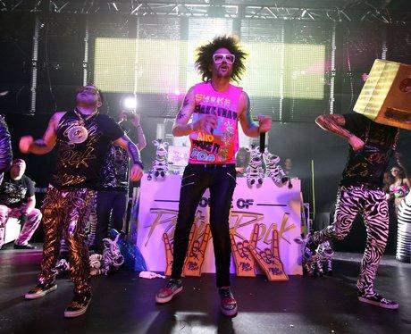LMFAO perform on stage