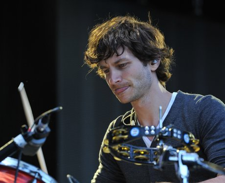 Gotye live on stage.