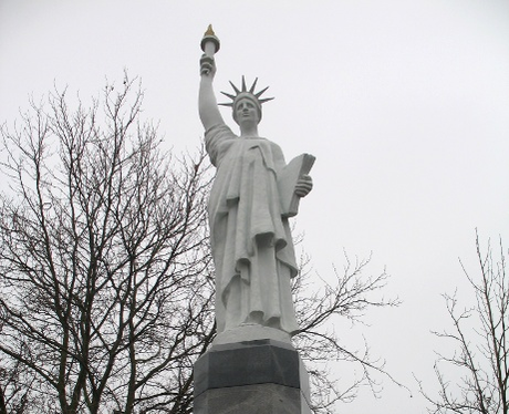 The Statue of Liberty in Leicester