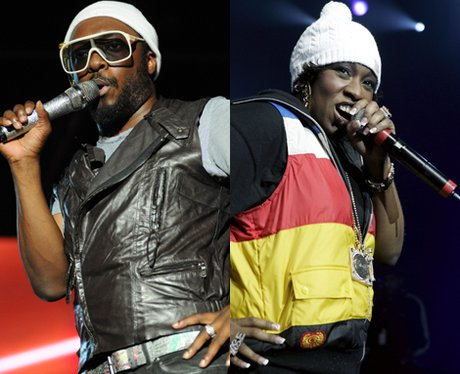 Will.i.am and Missy Elliot