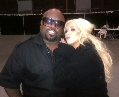 Cee Lo Green and Christina Aguilera Twitter