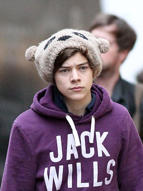 Harry Styles shopping in Manchester