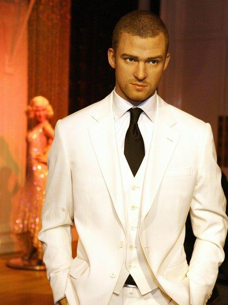 Jutsin Timberlake waxwork model