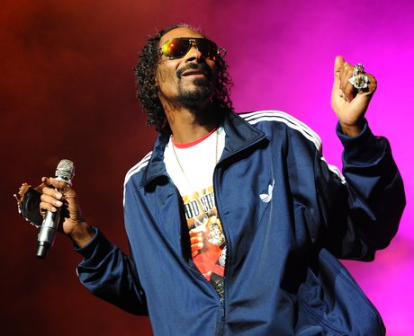 Snoop Dogg on stage
