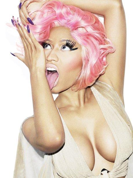 Nicki Minaj on the cover of Wonderland magazine