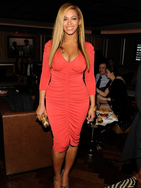 Beyonce is pictured out for the first time since giving birth.