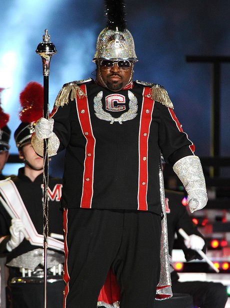 Cee Lo Green and Madonna Super bowl 2012