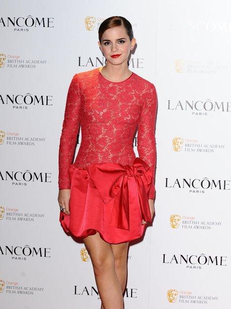 Emma Watson at the Lancome Pre Bafta Party