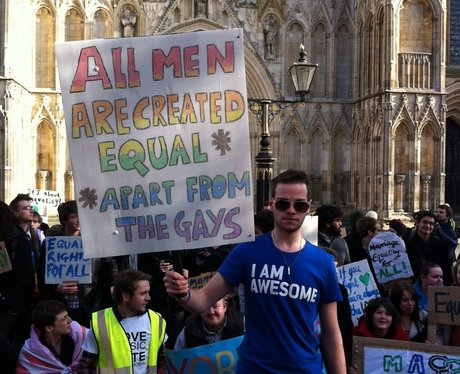 Gay Rights Protest