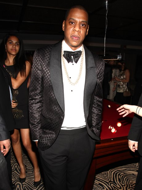 Jay Z at his after party